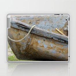 Micheal rode his boat ashore Laptop & iPad Skin