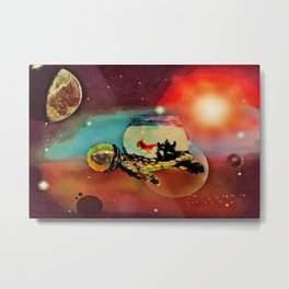 SPACE TURTLE VII - 202 Metal Print