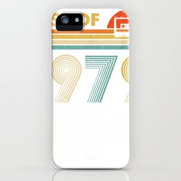 happy 40th birthday vintage given that 1979 tee tee 70s retro tee iPhone Case
