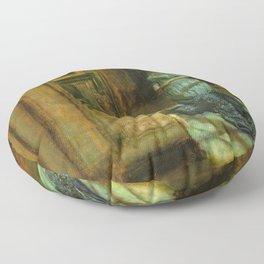 John Everett Millais - The Eve of St Agnes Floor Pillow