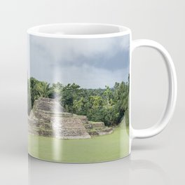 Altun Ha Mayan Ruins in the tropical jungle of Belize Coffee Mug