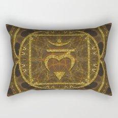 Earth Glitter | Root Chakra Rectangular Pillow