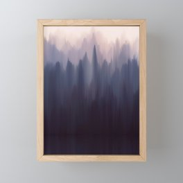 Morning Fog I Framed Mini Art Print