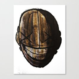 Smiling jack face Canvas Print
