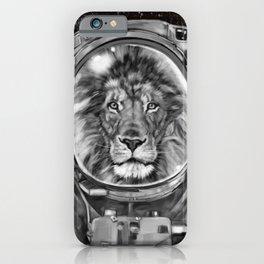Astronaut Lion King Selfie iPhone Case