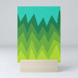 Green Summer Forest Mini Art Print