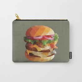 Gourmet Burger Polygon Art Carry-All Pouch