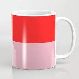 Watermelon Red & Peach Pink Coffee Mug
