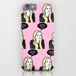 You didn't write your book iPhone Case