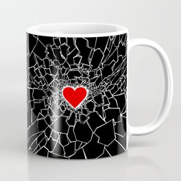 Heartbreaker III Black Coffee Mug
