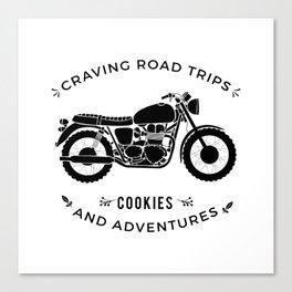 Bonneville - Road Trips Canvas Print