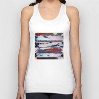 cityscape Tank Tops featuring Cityscape  by MonsterBrown