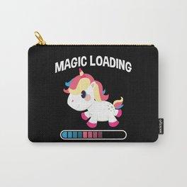 Unicorn Magic Loading Cute Animals Unicorns Carry-All Pouch