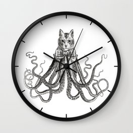 Octopussy | Black and White Wall Clock