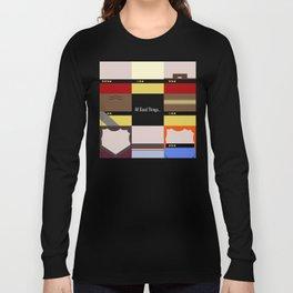 All Good Things - square Minimalist Star Trek TNG The Next Generation 1701 D  startrek  Trektangles Long Sleeve T-shirt