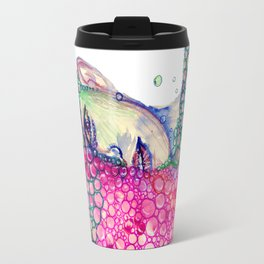 Living in Bubble Travel Mug