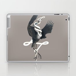 Anxiety (White Variant) Laptop & iPad Skin