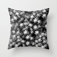 moss Throw Pillows featuring Moss by Crazy Thoom