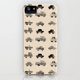Trucks and Cars iPhone Case