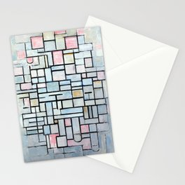 Piet Mondriaan Composition No. IV Stationery Cards