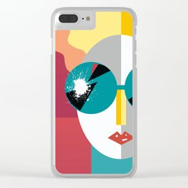 Big Shades Clear iPhone Case