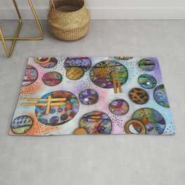 Original Abstract - The Markie Rug
