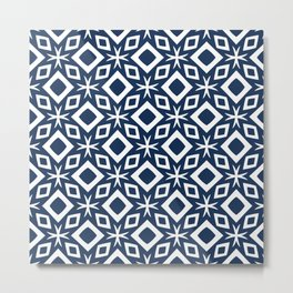 Abstract geometric Pattern 81 Metal Print