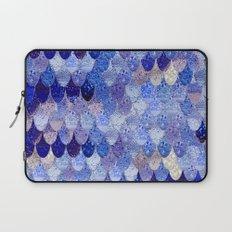 SUMMER MERMAID ROYAL BLUE Laptop Sleeve