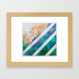 Clouded Judgement No. 3 Framed Art Print