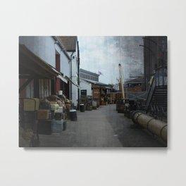 Bristol Dockside Metal Print
