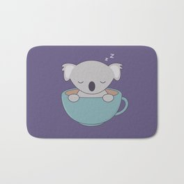 Kawaii Cute Koala Bear Bath Mat