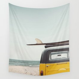 Surfing time Wall Tapestry