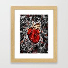Heart & Arrows Framed Art Print