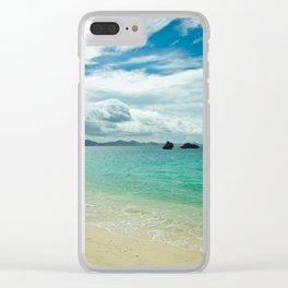 Motobu Seaside Clear iPhone Case