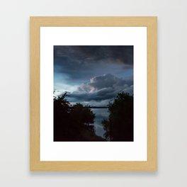 Stormy II Framed Art Print