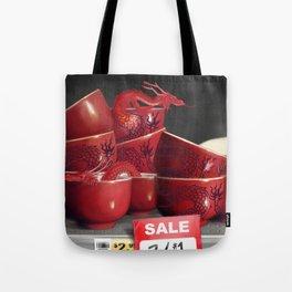 Teacup Dragons, At Discount Tote Bag