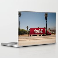 coke Laptop & iPad Skins featuring Coke Truck by Alex