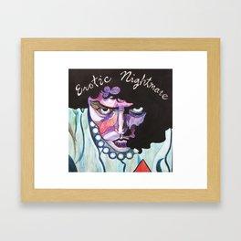 Enter At Your Own Risk!!  (Erotic Nightmare) Framed Art Print