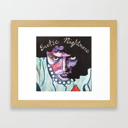 Enter At Your Own Risk!!  (Erotic Nightmare) Framed Art Print