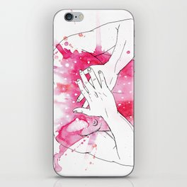 exploding heart iPhone Skin