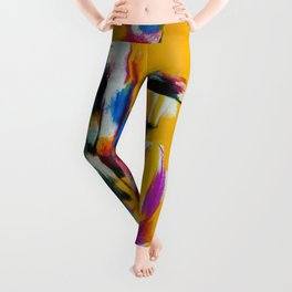 African American Masterpiece 'By the Harbor, Rhode Island' by Norman Lewis Leggings
