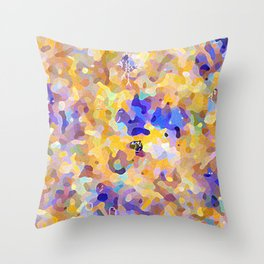 camouflage world Throw Pillow