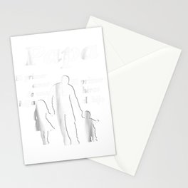 Dia del Padre Regalo Camiseta Stationery Cards