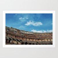 Colosseum, Rome, Italy, 2013 Art Print