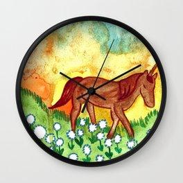 Far Away Land Wall Clock