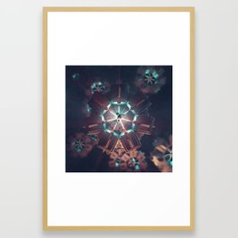 Space Torture (everyday 25.4.2018) Framed Art Print