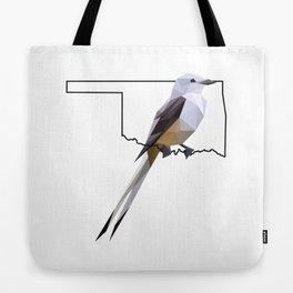 Oklahoma – Scissor-Tailed Flycatcher Tote Bag