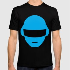 Daft Punk Thomas Bangalter Helmet Mens Fitted Tee MEDIUM Black