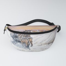 Magical winter Fanny Pack