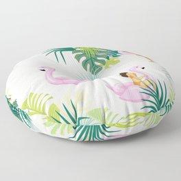 pink river Floor Pillow